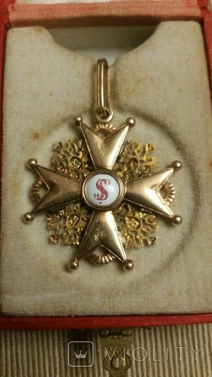 Орден Святого Станислава III cтепени. В футляре., фото №3