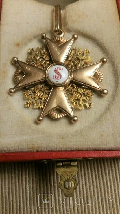 Орден Святого Станислава III cтепени. В футляре., фото №5