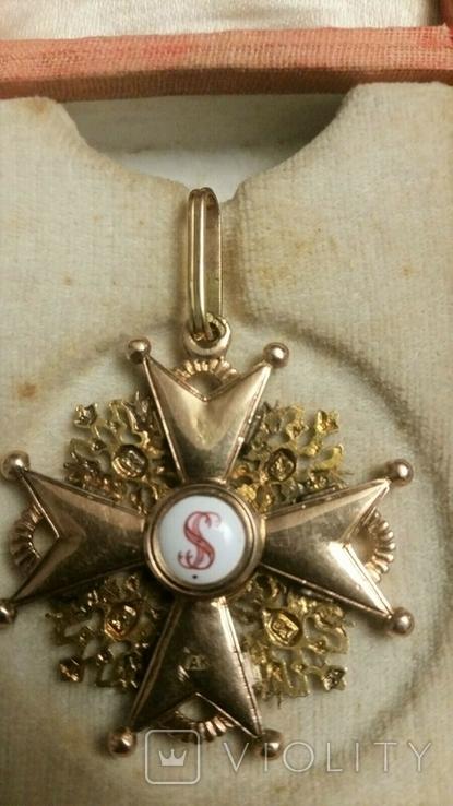 Орден Святого Станислава III cтепени. В футляре., фото №6