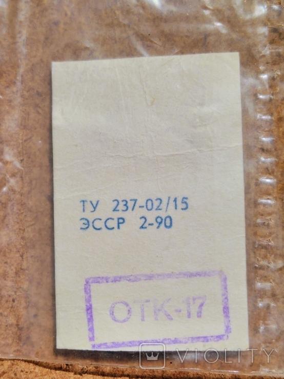"1990 г. подвеска в упаковке, Таллинн, ПО ""Ювээл"", серебро 925, фото №10"