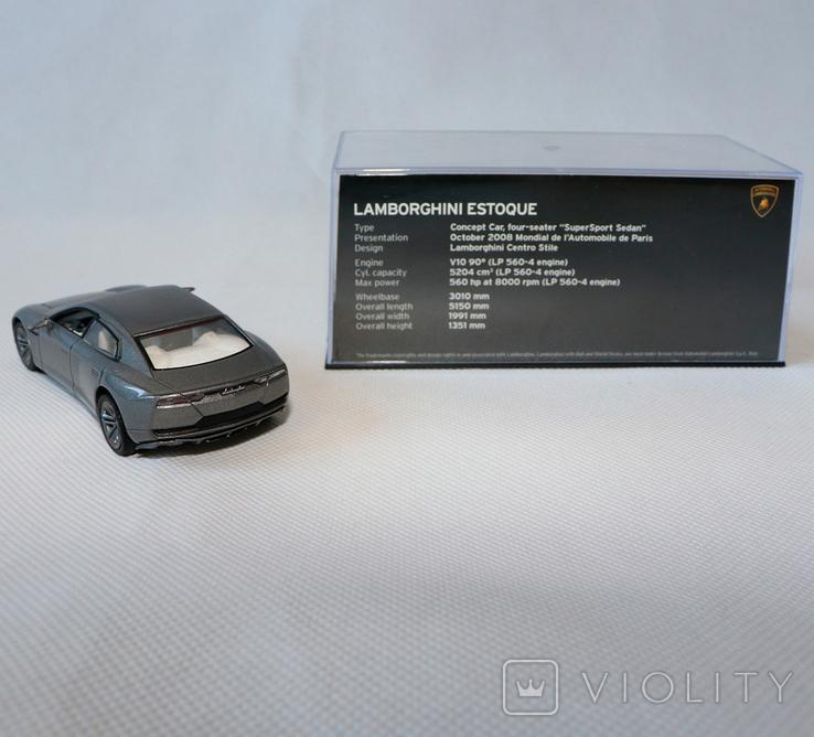 Lamborghini estoque model 1:43, фото №3
