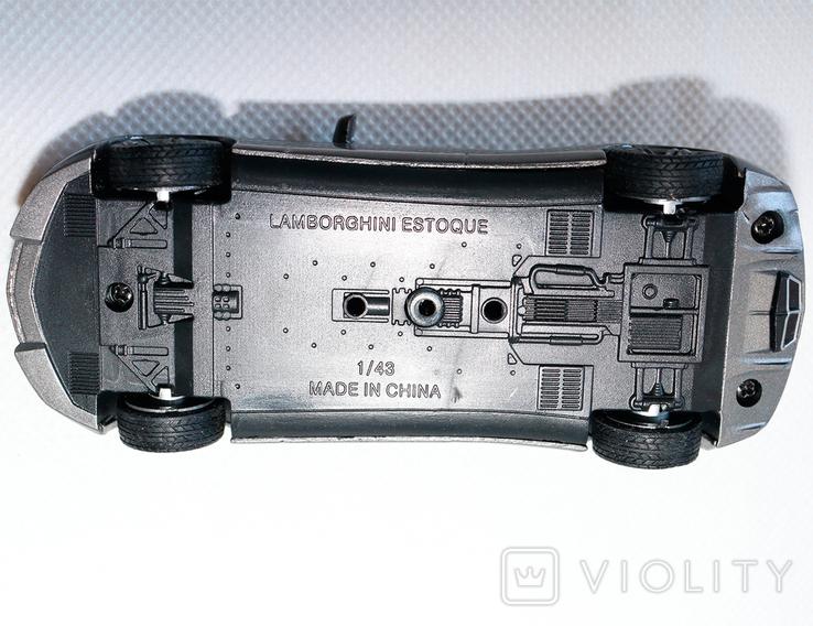 Lamborghini estoque model 1:43, фото №8