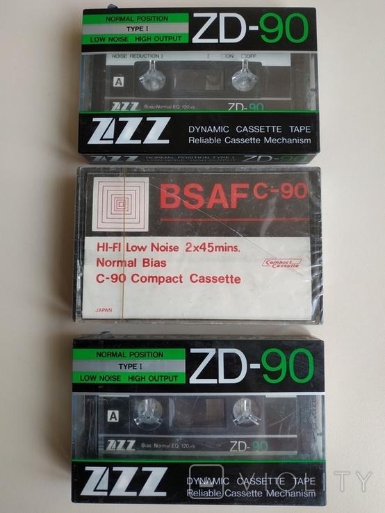 Аудиокассеты новые, фото №2
