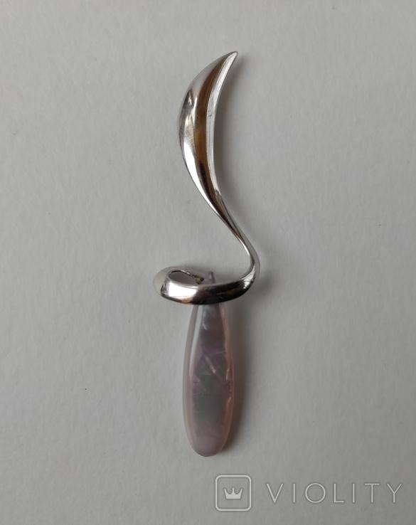 Срібний кулон., фото №5