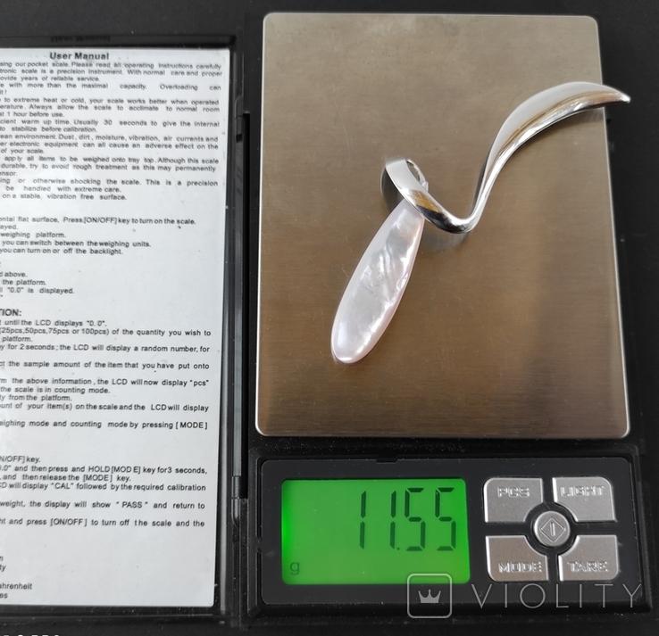 Срібний кулон., фото №9