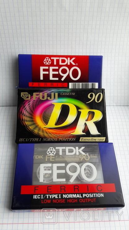 Аудиокассеты новые., фото №2