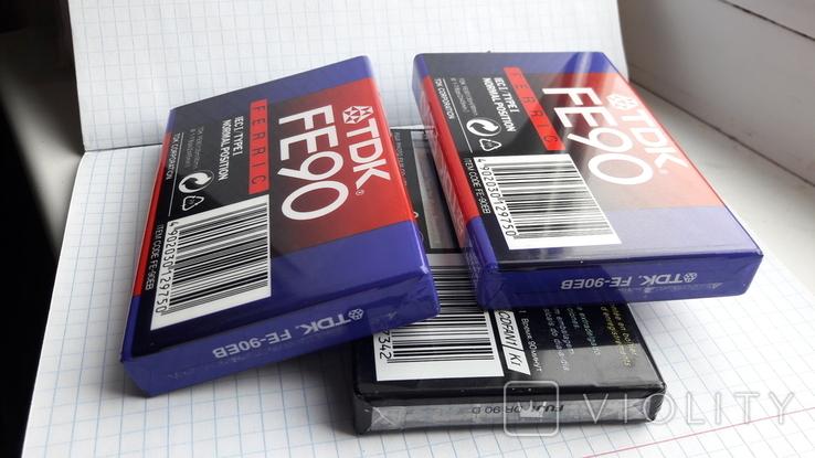 Аудиокассеты новые., фото №9