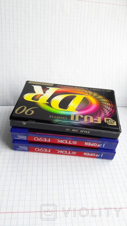 Аудиокассеты новые., фото №11