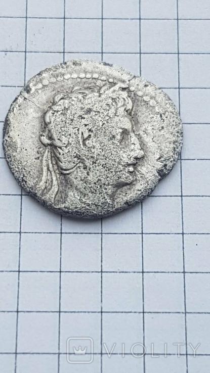 Республіканський динар Августа 19-18рік до н.є., фото №3