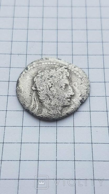 Республіканський динар Августа 19-18рік до н.є., фото №5
