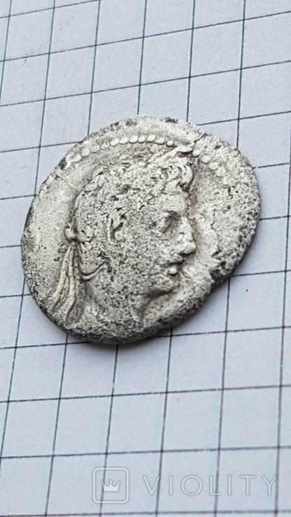 Республіканський динар Августа 19-18рік до н.є., фото №12
