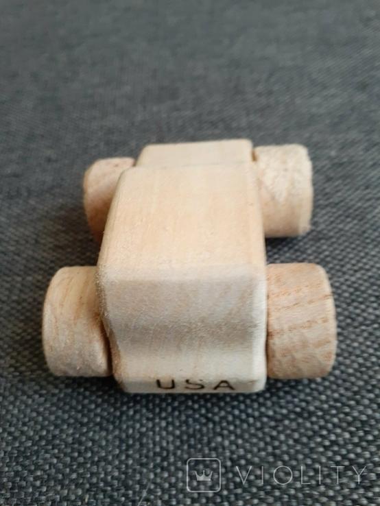 Машинка игрушка дерево самодельная, фото №5