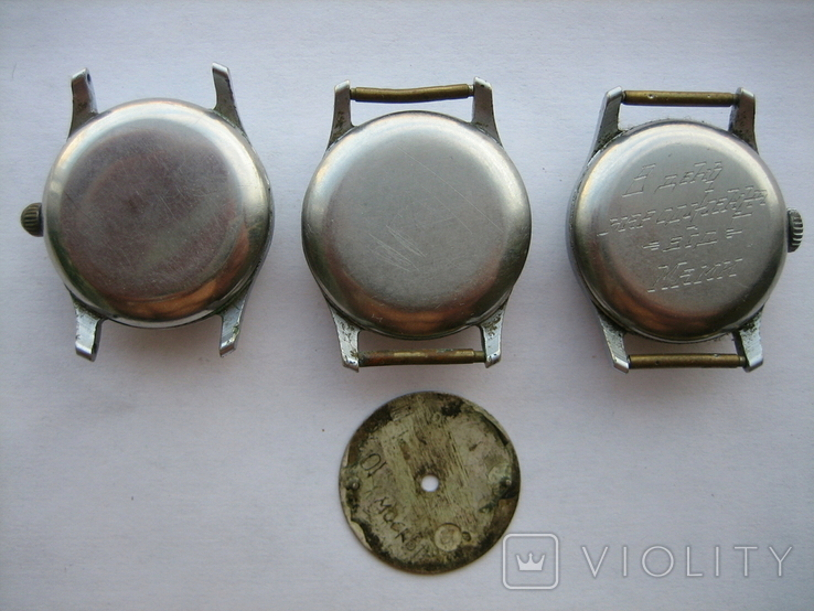 Часы Москва (3 шт.) + циферблат, фото №3