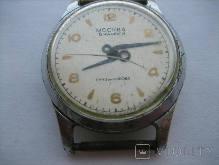 Часы Москва (3 шт.) + циферблат, фото №8