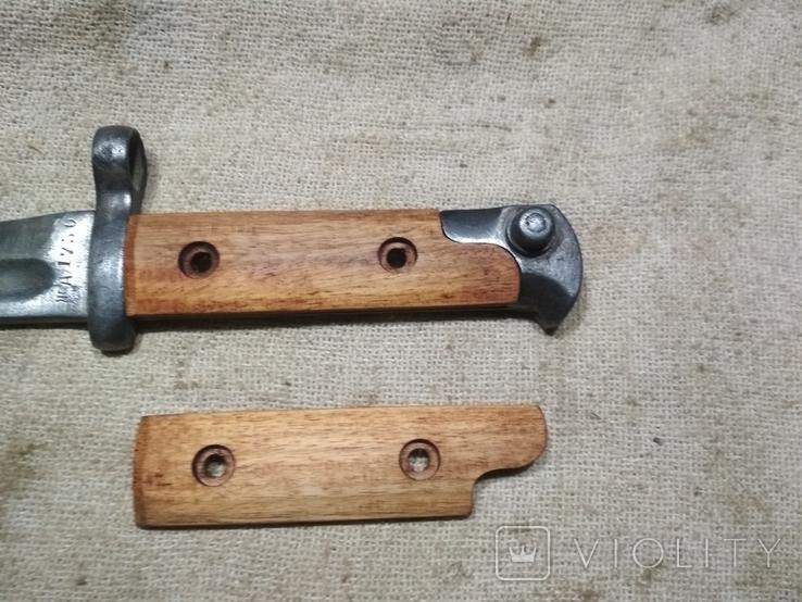 Накладки на штык нож СВТ 38 копия, фото №2