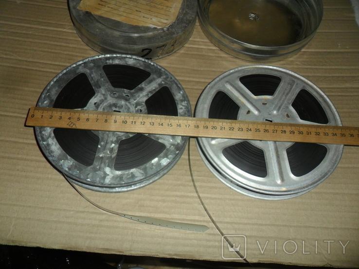 Кинопленка 16 мм 2 шт П.Г.Тычина Тичина (укр вариант) 1 и 2 части, фото №4
