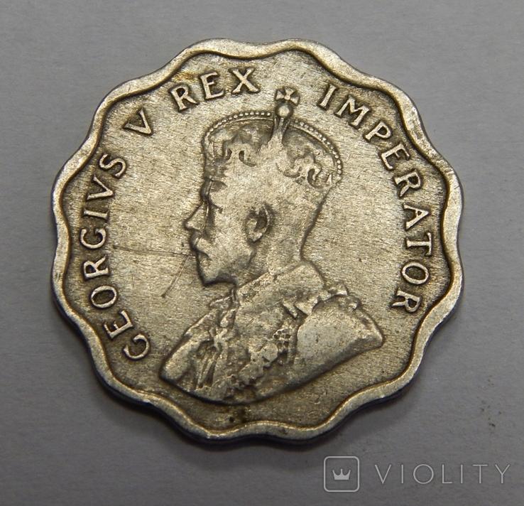 1/2 пиастра, 1934 г Кипр, фото №3