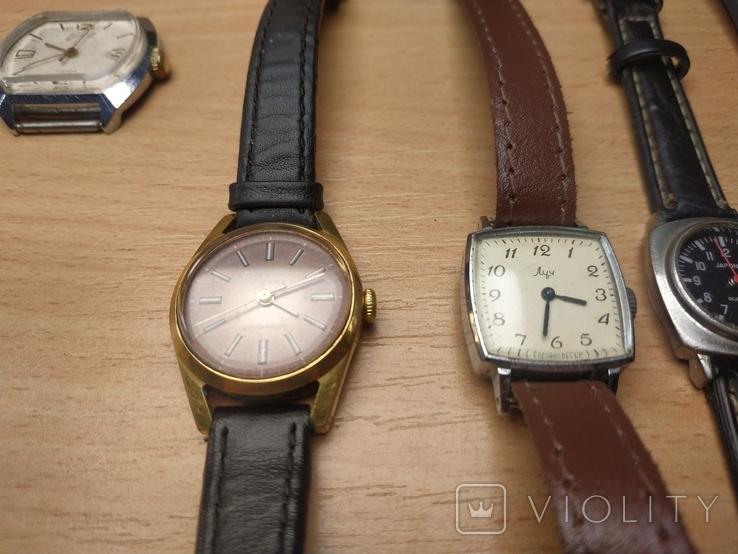 Часы разные и коробка для часов, фото №5