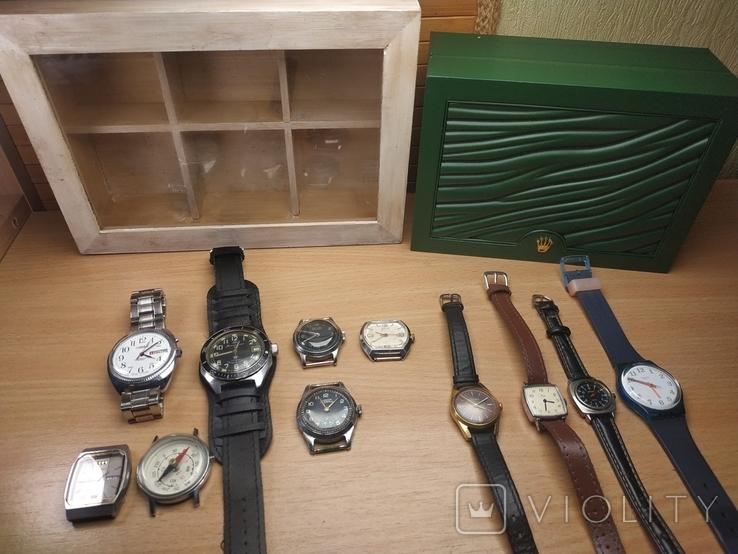 Часы разные и коробка для часов, фото №2