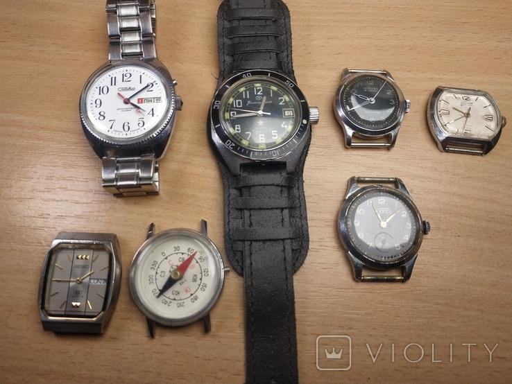 Часы разные и коробка для часов, фото №7