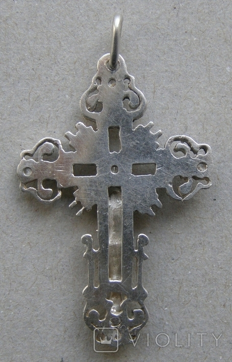 Крестик. Серебро. Вес - 3,03 г., фото №4