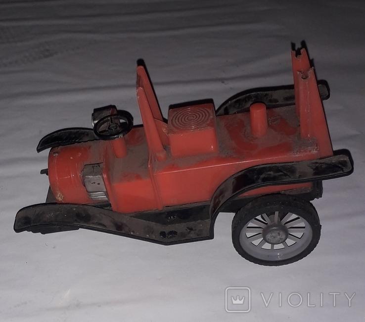 Ретро машинка СССР игрушка КРУГОЗОР ,на реставрацию, фото №2
