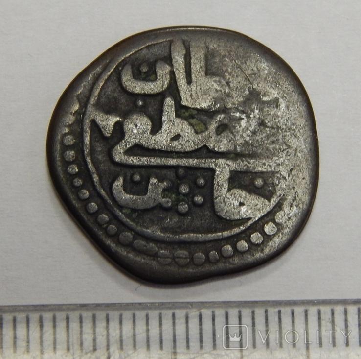 Медная османская монета, фото №2