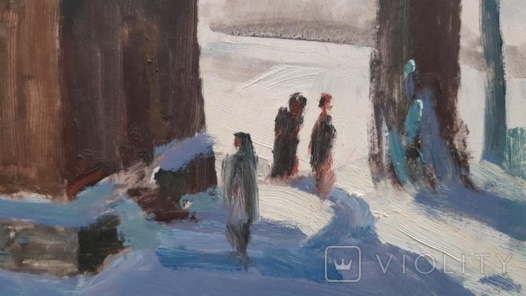 В.Демидюк. Зимовий пейзаж, фото №4