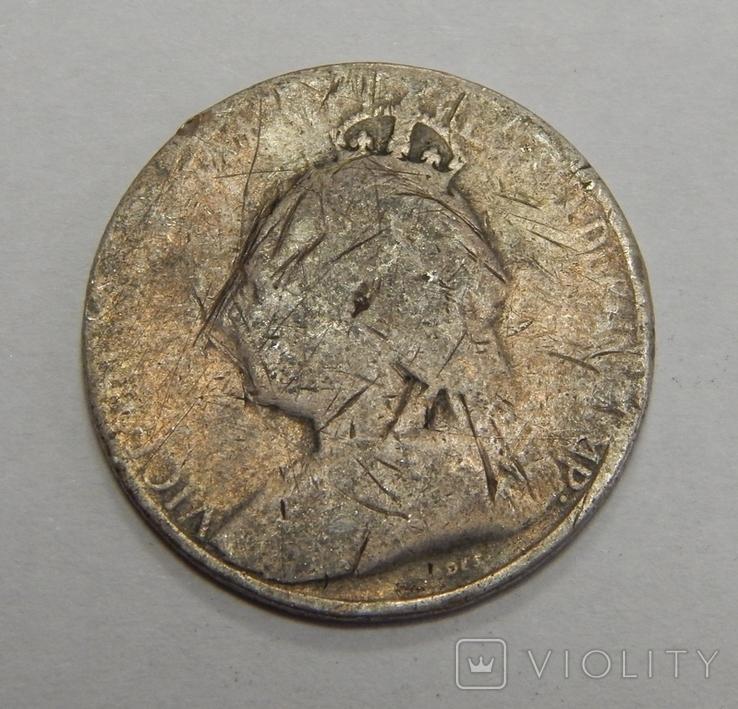 4,5 пиастра, 1901 г Кипр, фото №3