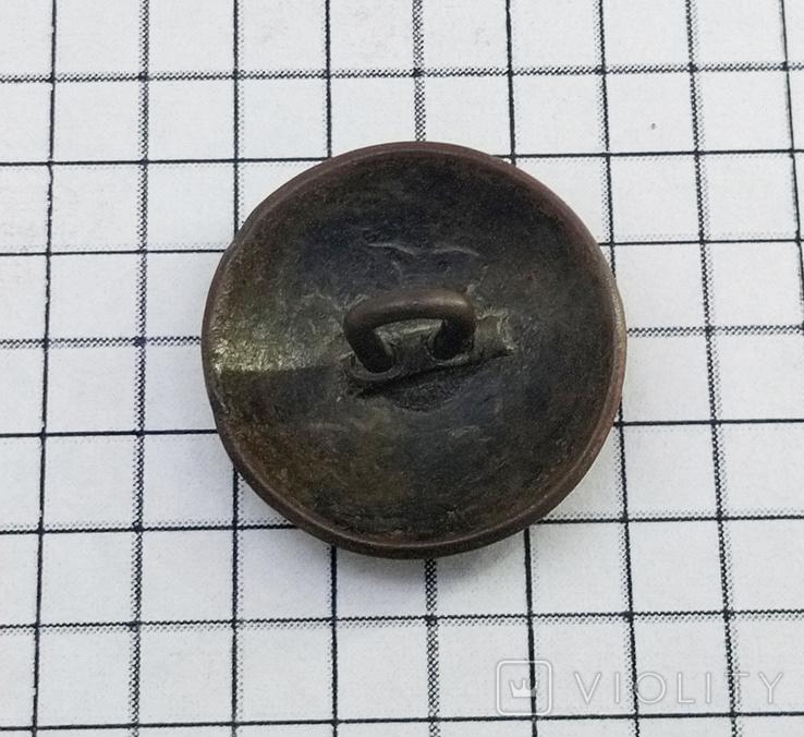Пуговица с накладкой на орлах Р.И., фото №9
