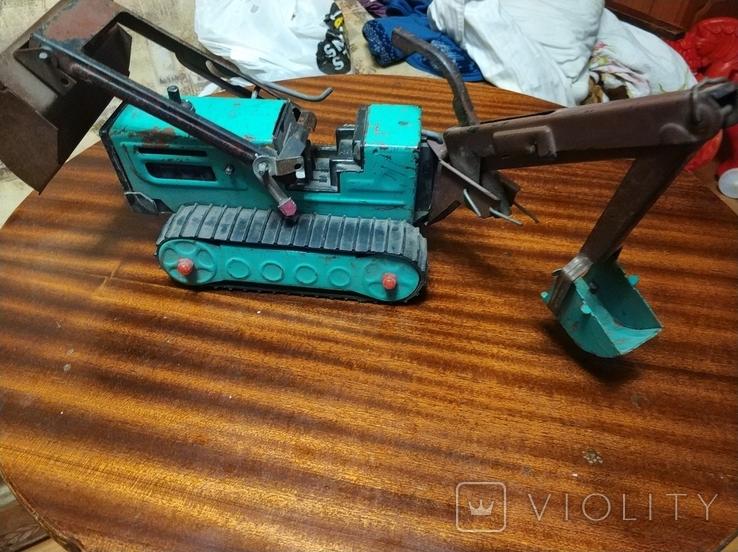 Продам детский трактор времён ссср, фото №3