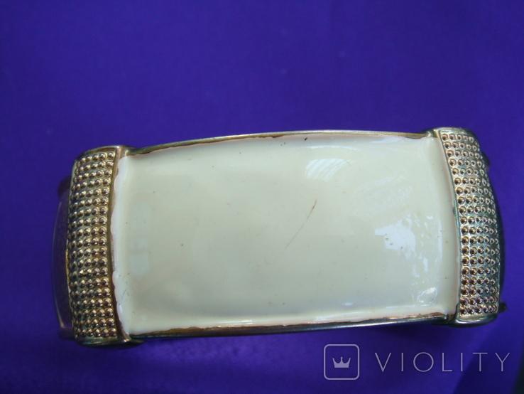 Широкий браслет эмаль бижутерия, фото №5