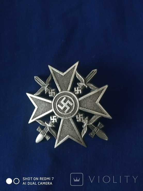 Крест рейх копия, фото №2