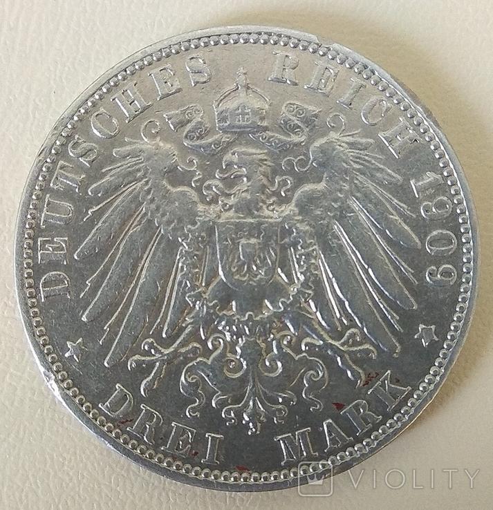 3 марки 1909 года., фото №7