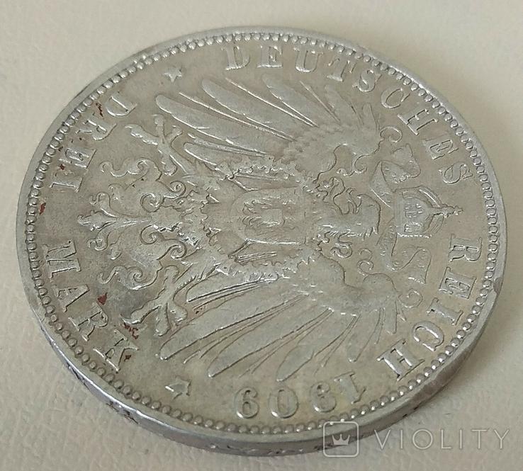 3 марки 1909 года., фото №9