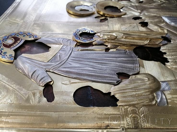 Икона  Введение во храм в серебряном окладе  84, фото №11