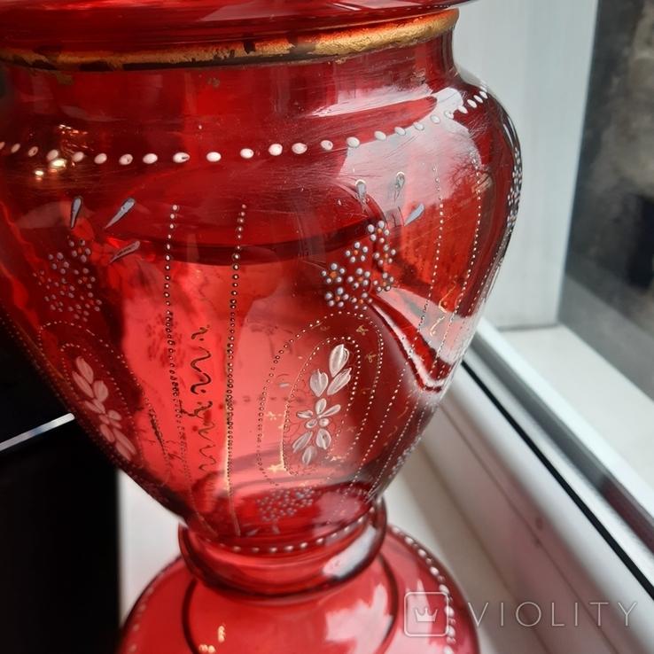 Керосиновая лампа 58 см начало 20 века, фото №13