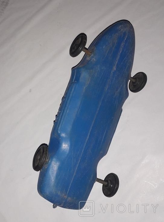 Дутыш гоночная машинка СССР длина 23 см., фото №4
