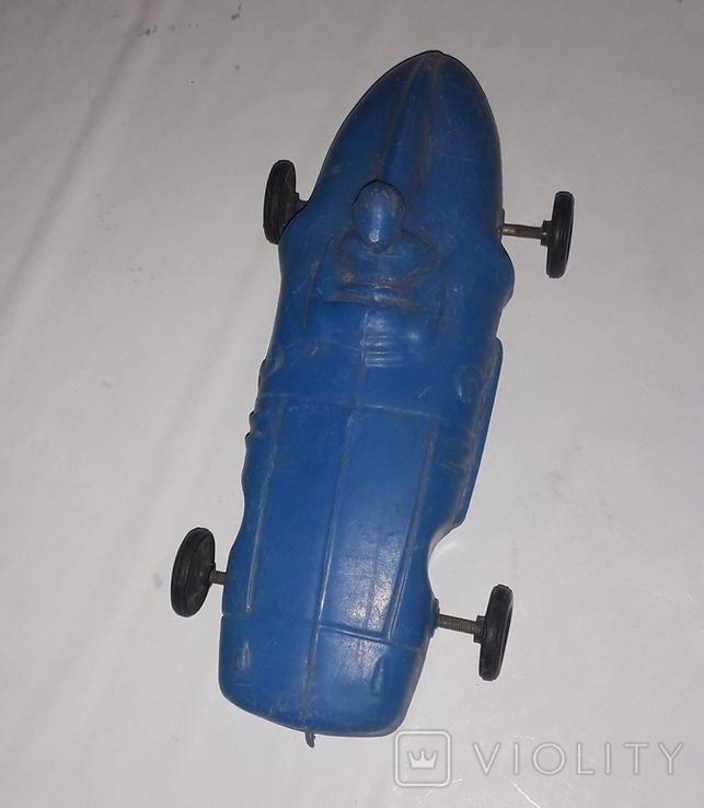 Дутыш гоночная машинка СССР длина 23 см., фото №5