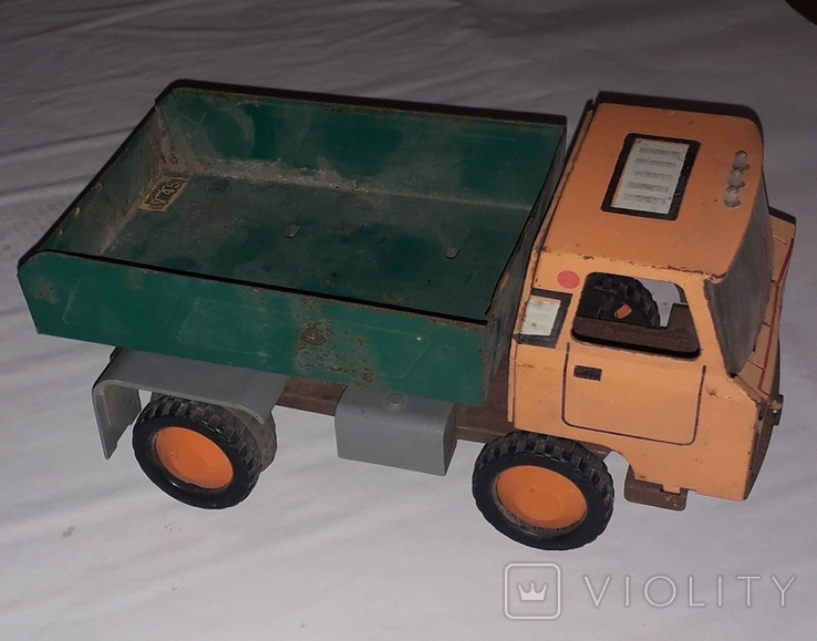 Грузовая машинка времён СССР длина 23 см., фото №2