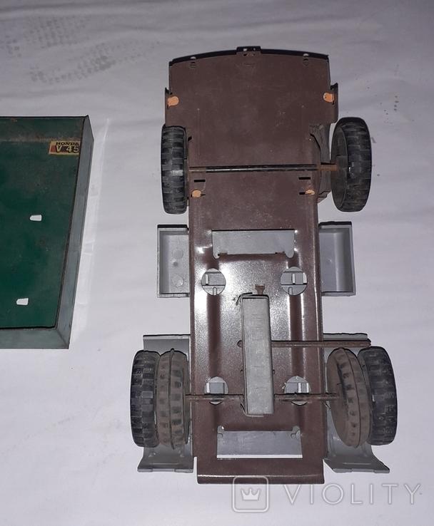 Грузовая машинка времён СССР длина 23 см., фото №4