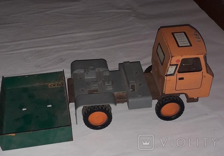 Грузовая машинка времён СССР длина 23 см., фото №5