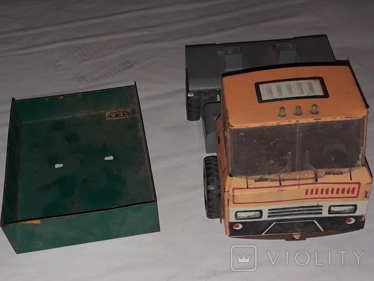 Грузовая машинка времён СССР длина 23 см., фото №7