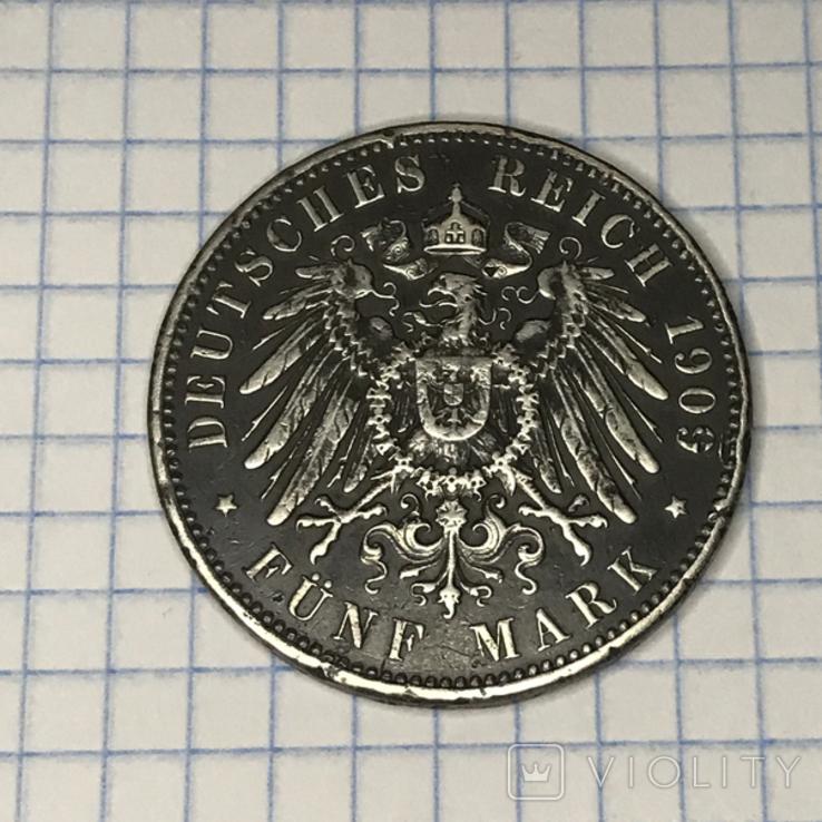 5 марок 1909 год, фото №4