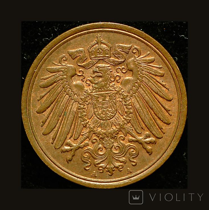Германия 1 пфеннигов 1913, фото №3