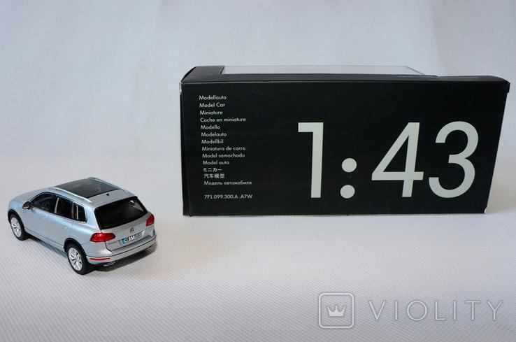 Масштабная модель VW touareg 1:43, фото №3