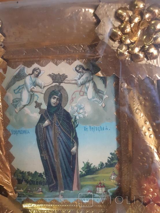 Икона Евросиния Полоцкая, фото №6