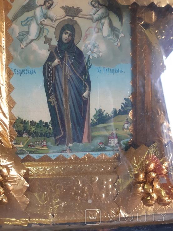 Икона Евросиния Полоцкая, фото №7