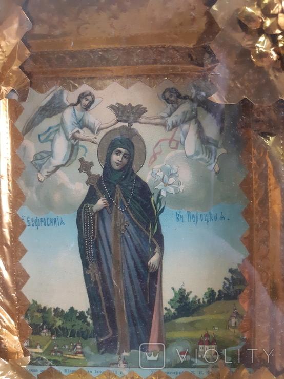 Икона Евросиния Полоцкая, фото №8
