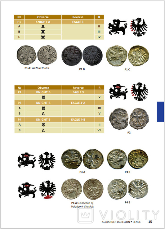 Каталог монет ВКЛ Lithuanian Coins 1495-1536, фото №4